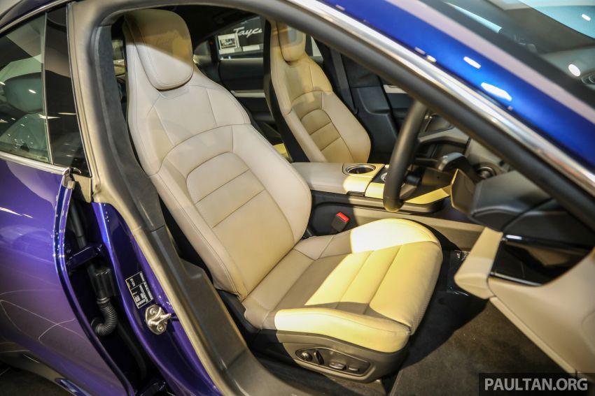 Porsche Taycan tiba di Malaysia – tiga varian, harga RM725k – RM1.2 juta, jarak gerak hingga 464 km Image #1178506