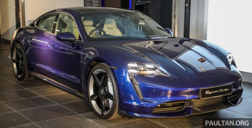 Porsche Taycan tiba di Malaysia – tiga varian, harga RM725k – RM1.2 juta, jarak gerak hingga 464 km Image #1178481