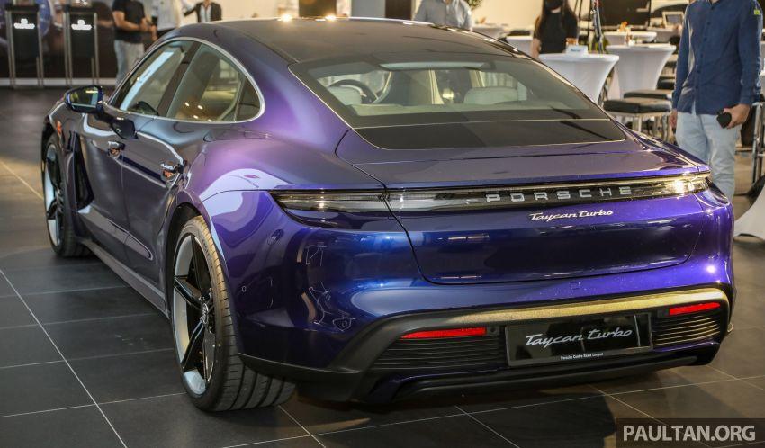 Porsche Taycan tiba di Malaysia – tiga varian, harga RM725k – RM1.2 juta, jarak gerak hingga 464 km Image #1178483