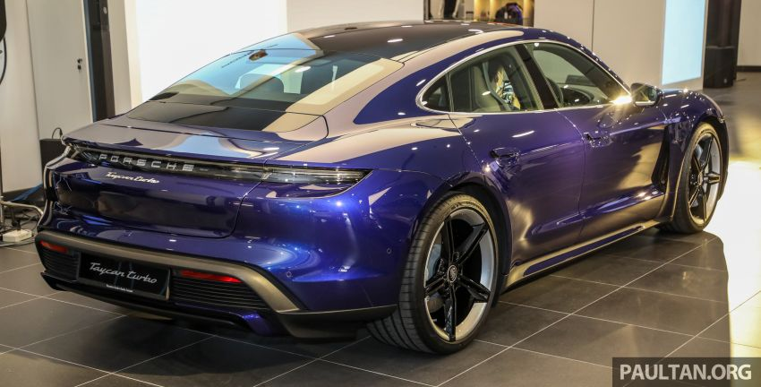 2020 Porsche Taycan launched in Malaysia – up to 761 PS and 1,050 Nm, 464 km EV range; from RM725k Image #1178616