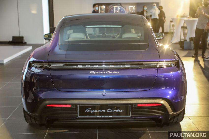 Porsche Taycan tiba di Malaysia – tiga varian, harga RM725k – RM1.2 juta, jarak gerak hingga 464 km Image #1178489