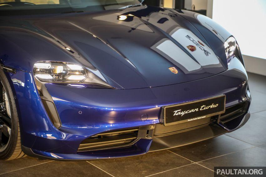 Porsche Taycan tiba di Malaysia – tiga varian, harga RM725k – RM1.2 juta, jarak gerak hingga 464 km Image #1178491