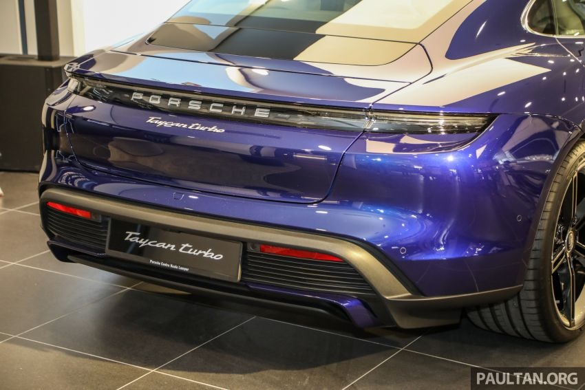 2020 Porsche Taycan launched in Malaysia – up to 761 PS and 1,050 Nm, 464 km EV range; from RM725k Image #1178625