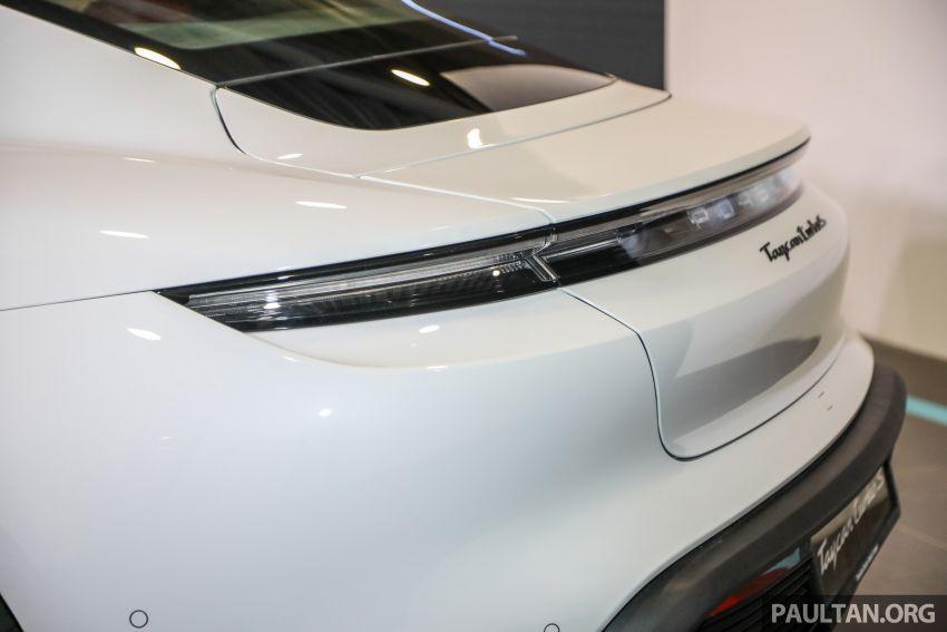 Porsche Taycan tiba di Malaysia – tiga varian, harga RM725k – RM1.2 juta, jarak gerak hingga 464 km Image #1178569