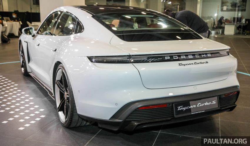 Porsche Taycan tiba di Malaysia – tiga varian, harga RM725k – RM1.2 juta, jarak gerak hingga 464 km Image #1178514