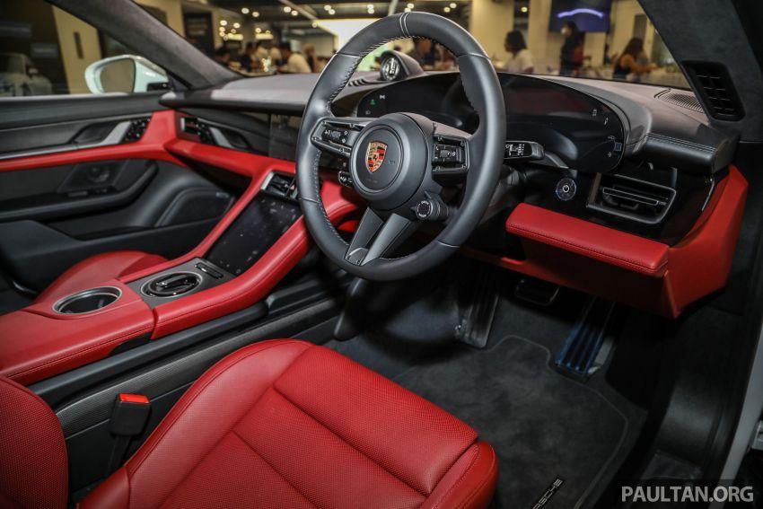 Porsche Taycan tiba di Malaysia – tiga varian, harga RM725k – RM1.2 juta, jarak gerak hingga 464 km Image #1178579