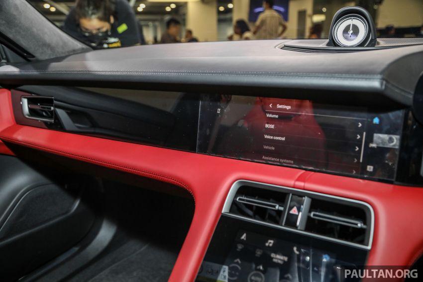 Porsche Taycan tiba di Malaysia – tiga varian, harga RM725k – RM1.2 juta, jarak gerak hingga 464 km Image #1178599