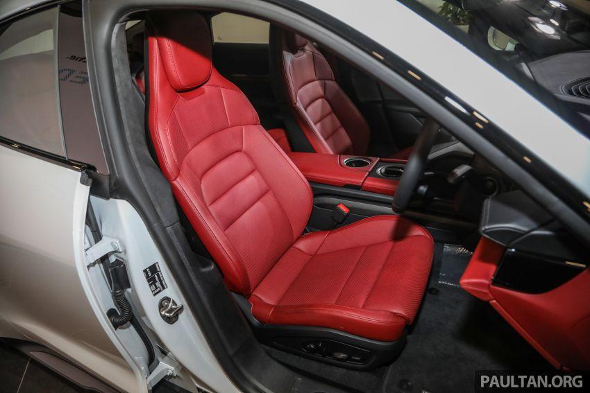 Porsche Taycan tiba di Malaysia – tiga varian, harga RM725k – RM1.2 juta, jarak gerak hingga 464 km Image #1178640