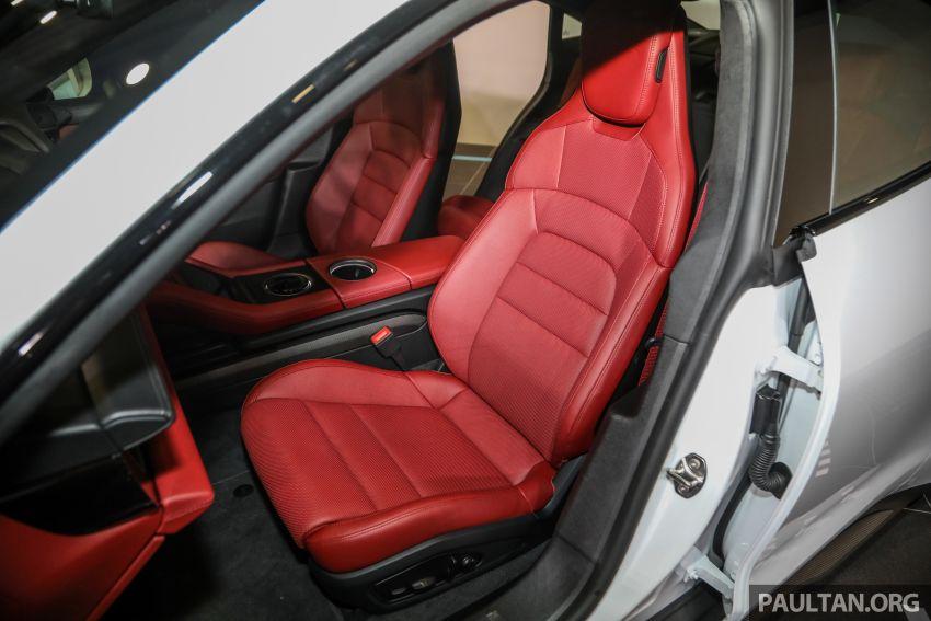 Porsche Taycan tiba di Malaysia – tiga varian, harga RM725k – RM1.2 juta, jarak gerak hingga 464 km Image #1178641