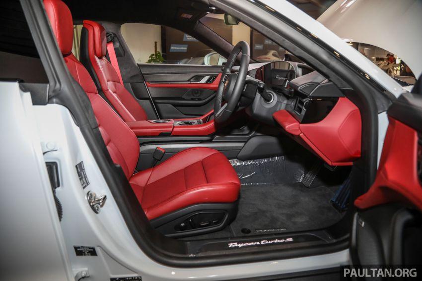 Porsche Taycan tiba di Malaysia – tiga varian, harga RM725k – RM1.2 juta, jarak gerak hingga 464 km Image #1178642