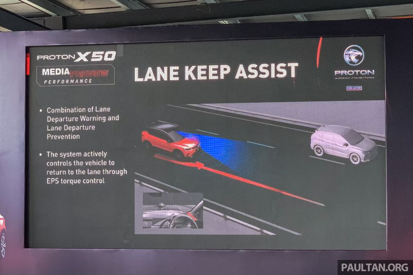Proton X50 Flagship – ADAS features get detailed Image #1185610