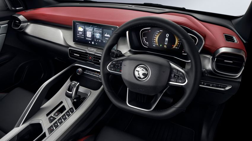 2020 Proton X50 variant breakdown – spec differences between Standard, Executive, Premium and Flagship Image #1177524