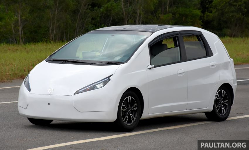 EV Innovations MyKar – city EV prototype designed and built in Malaysia, 32 hp and 295 Nm, 150 km range Image #1174004
