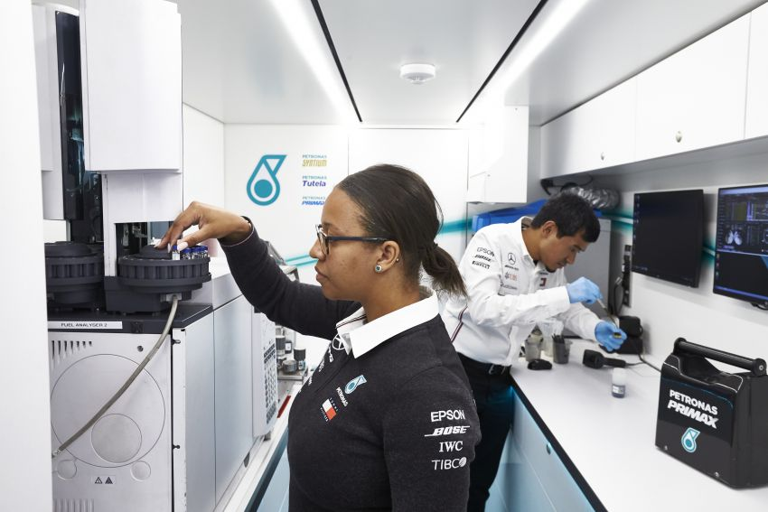 Petronas Trackside Fluid Engineers – we talk to En De Liow and Stephanie Travers about Formula 1 in 2020 Image #1172153
