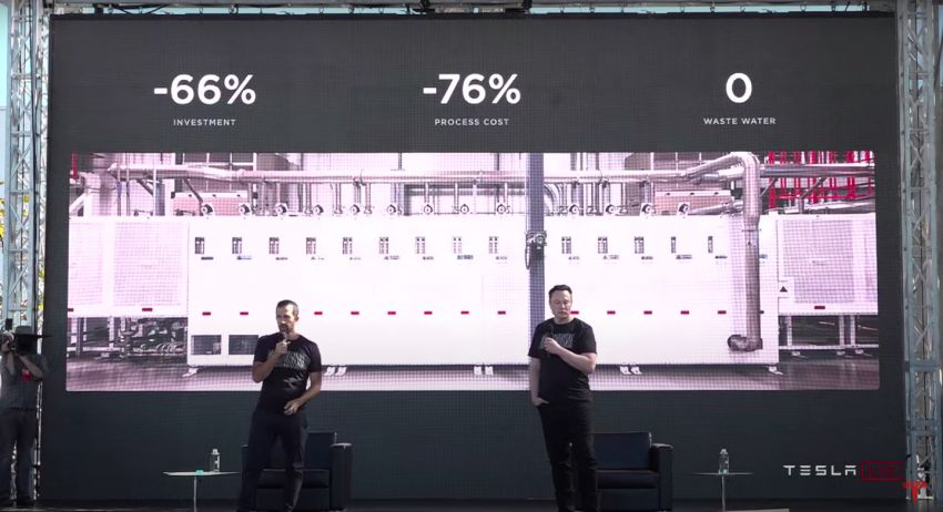 Tesla introduces tabless battery cell design – gains of 5x energy, 6x power for 16% improvement in EV range Image #1182916