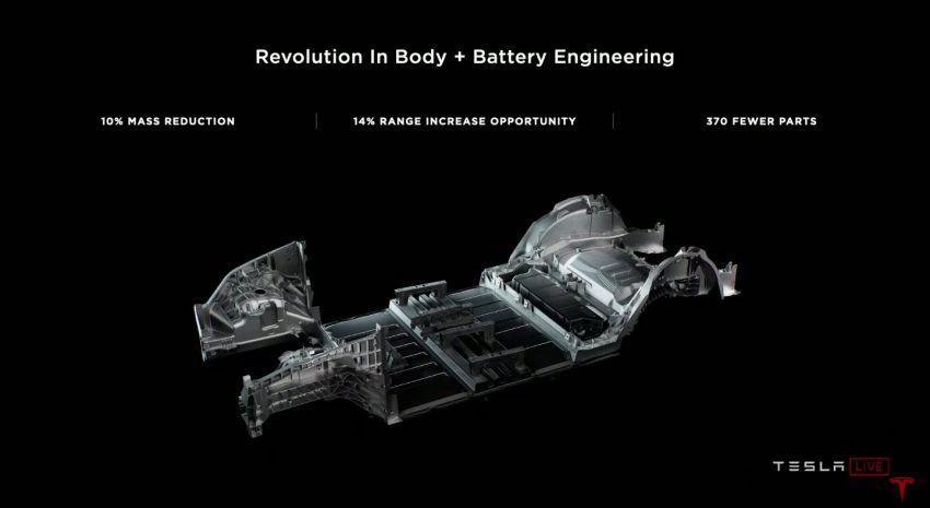 Tesla tunjuk rekaan bateri tanpa tab yang lebih cekap Image #1183128