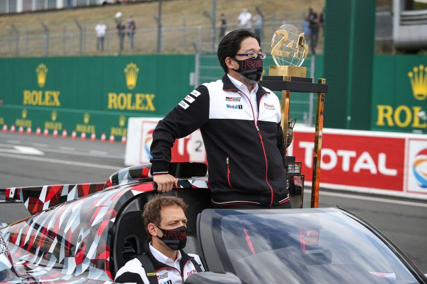 Toyota GR Super Sport makes public debut at Le Mans Image #1179180