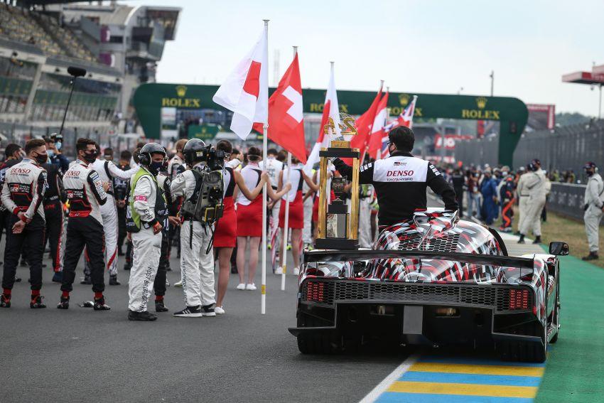 Toyota GR Super Sport makes public debut at Le Mans Image #1179186