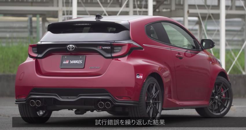 Toyota GR Yaris – barisan aksesori asli diperkenal Image #1173230