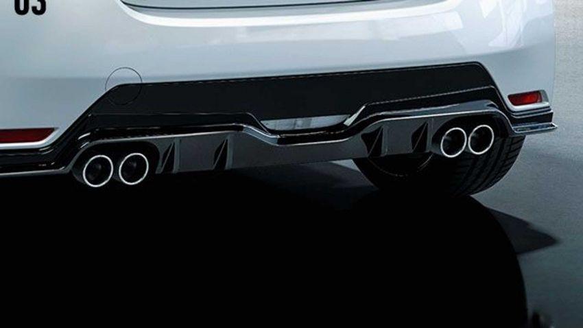 Toyota GR Yaris – barisan aksesori asli diperkenal Image #1173215