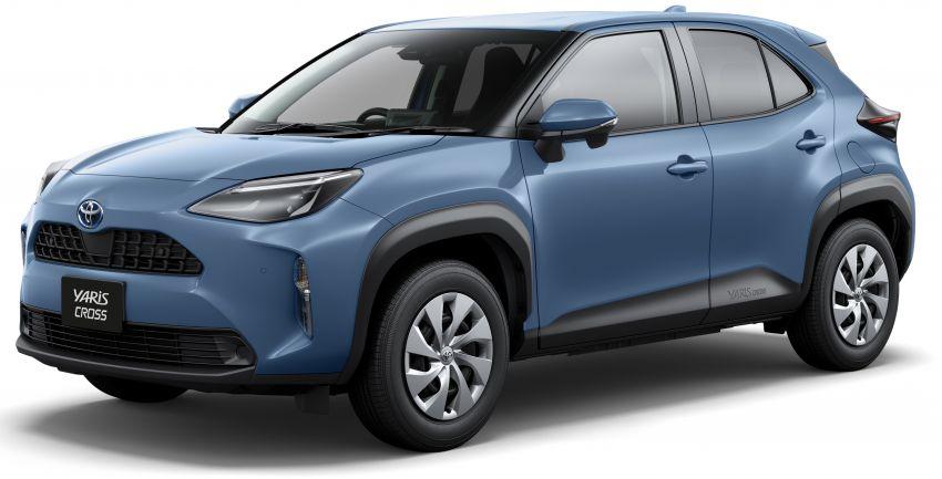 Toyota Yaris Cross launched in Japan – 1.5L petrol and hybrid, 2WD and AWD, up to 30.8 km/l, RM71k-RM110k Image #1169154
