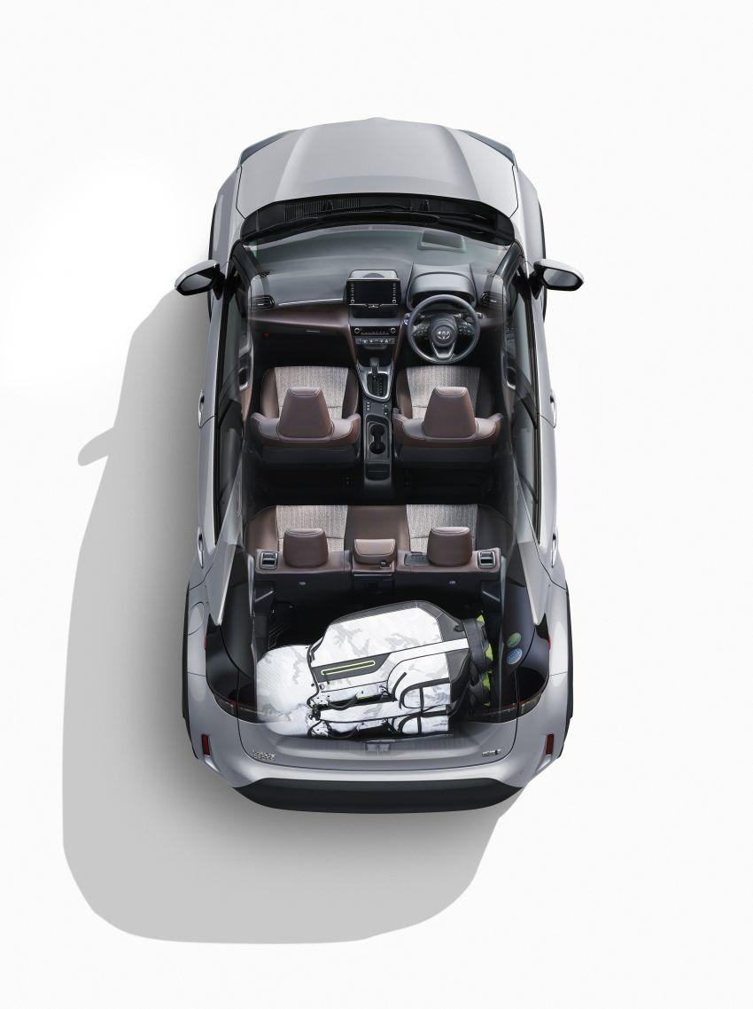 Toyota Yaris Cross launched in Japan – 1.5L petrol and hybrid, 2WD and AWD, up to 30.8 km/l, RM71k-RM110k Image #1169161