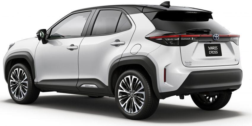 Toyota Yaris Cross launched in Japan – 1.5L petrol and hybrid, 2WD and AWD, up to 30.8 km/l, RM71k-RM110k Image #1169145