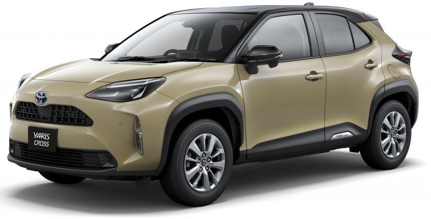 Toyota Yaris Cross launched in Japan – 1.5L petrol and hybrid, 2WD and AWD, up to 30.8 km/l, RM71k-RM110k Image #1169150