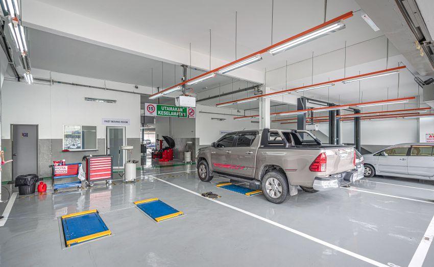 Pusat servis Toyota Taman Mayang dinaiktaraf ke 2S Image #1178179