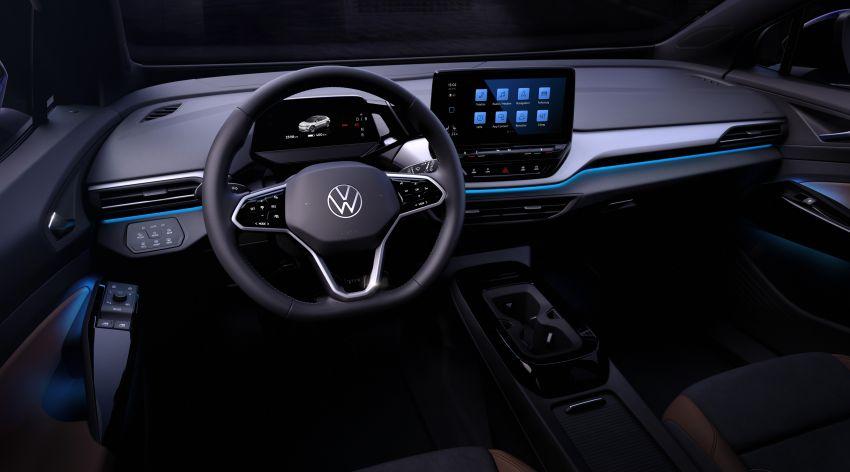 Volkswagen reveals ID.4 interior, EV debut this month Image #1172200