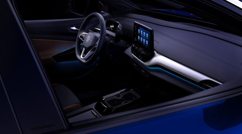 Volkswagen reveals ID.4 interior, EV debut this month Image #1172201