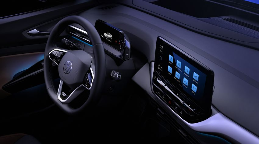 Volkswagen reveals ID.4 interior, EV debut this month Image #1172204