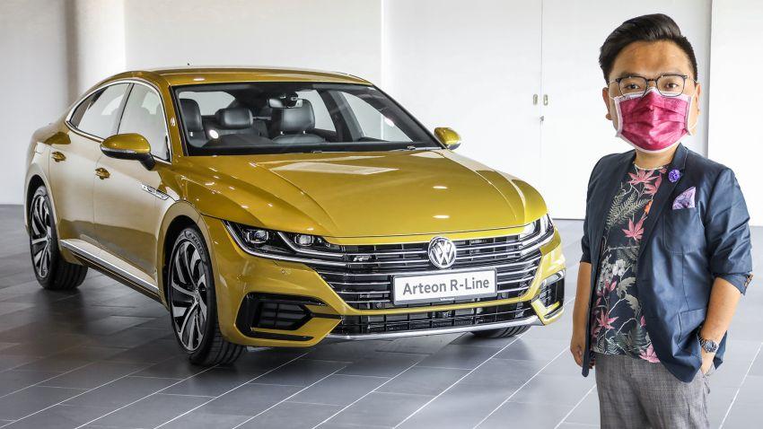 FIRST LOOK: 2020 Volkswagen Arteon R-Line, RM221k Image #1169729