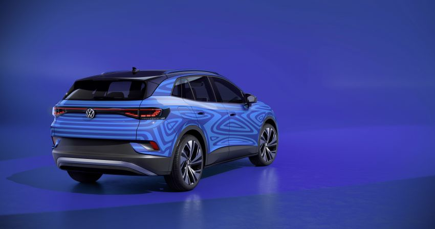 Volkswagen ID.4 electric SUV debuts – 77 kWh battery, 520 km range; from RM135,412 in US after tax credit Image #1182077
