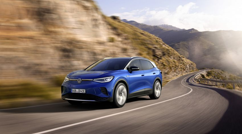 Volkswagen ID.4 electric SUV debuts – 77 kWh battery, 520 km range; from RM135,412 in US after tax credit Image #1182082