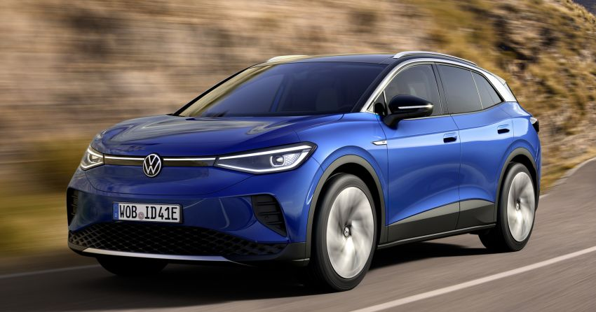 Volkswagen ID.4 electric SUV debuts – 77 kWh battery, 520 km range; from RM135,412 in US after tax credit Image #1182012