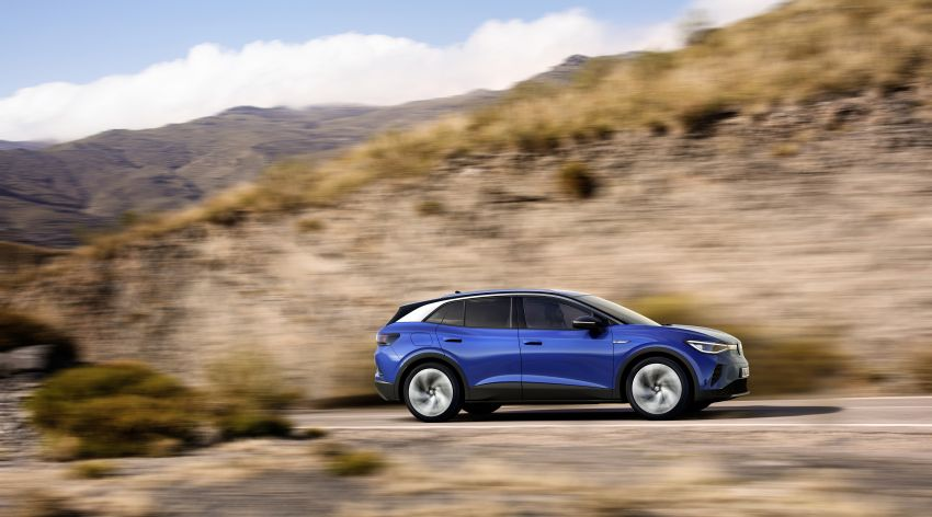 Volkswagen ID.4 electric SUV debuts – 77 kWh battery, 520 km range; from RM135,412 in US after tax credit Image #1181990