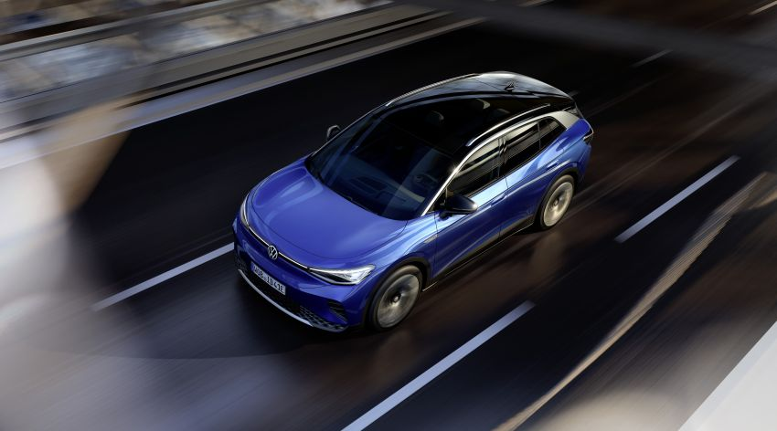 Volkswagen ID.4 electric SUV debuts – 77 kWh battery, 520 km range; from RM135,412 in US after tax credit Image #1182021