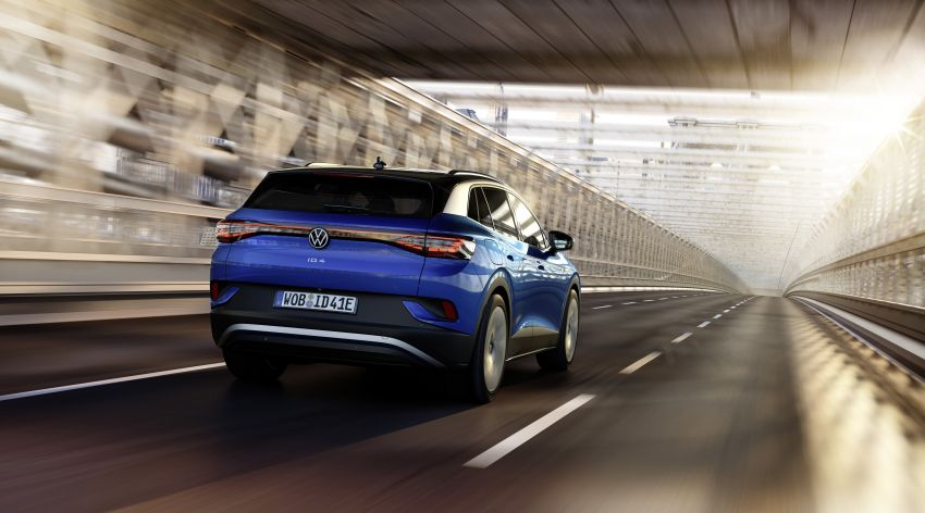 Volkswagen ID.4 electric SUV debuts – 77 kWh battery, 520 km range; from RM135,412 in US after tax credit Image #1182065