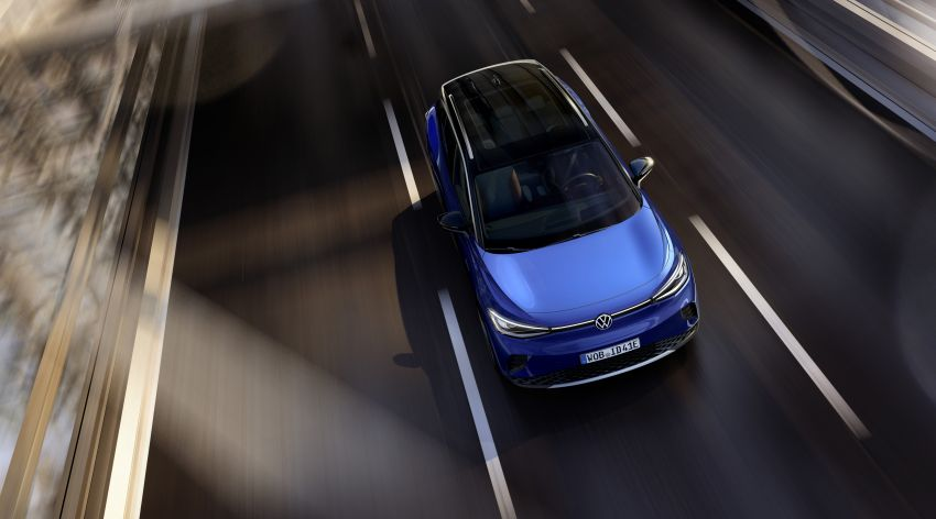 Volkswagen ID.4 electric SUV debuts – 77 kWh battery, 520 km range; from RM135,412 in US after tax credit Image #1181996