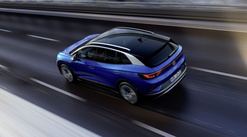 Volkswagen ID.4 electric SUV debuts – 77 kWh battery, 520 km range; from RM135,412 in US after tax credit Image #1182097