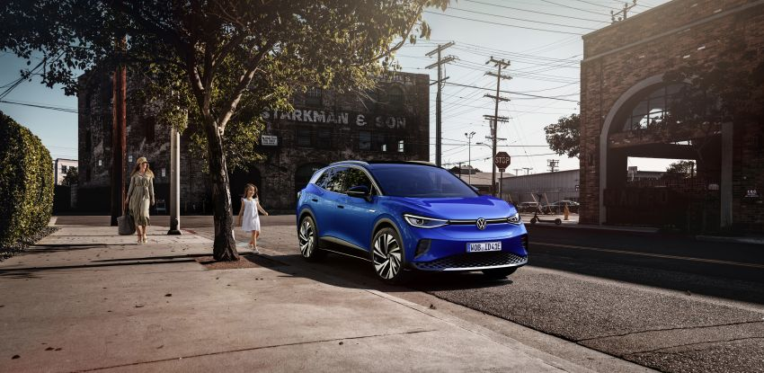 Volkswagen ID.4 electric SUV debuts – 77 kWh battery, 520 km range; from RM135,412 in US after tax credit Image #1182011