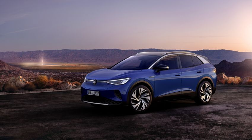 Volkswagen ID.4 electric SUV debuts – 77 kWh battery, 520 km range; from RM135,412 in US after tax credit Image #1182092
