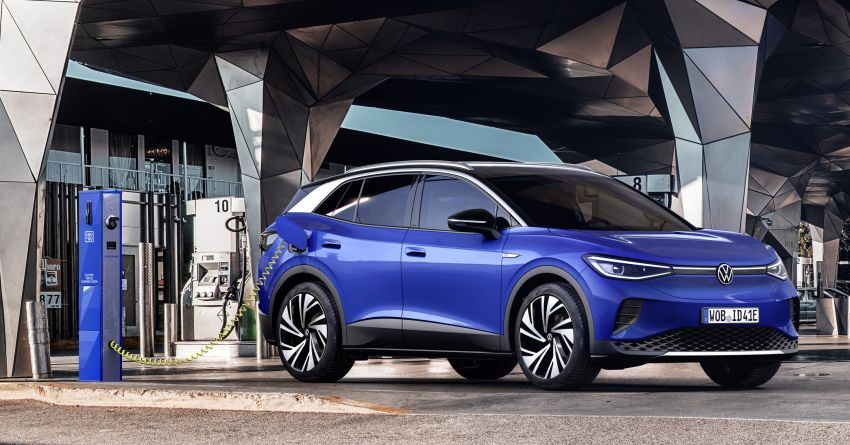 Volkswagen ID.4 electric SUV debuts – 77 kWh battery, 520 km range; from RM135,412 in US after tax credit Image #1181997