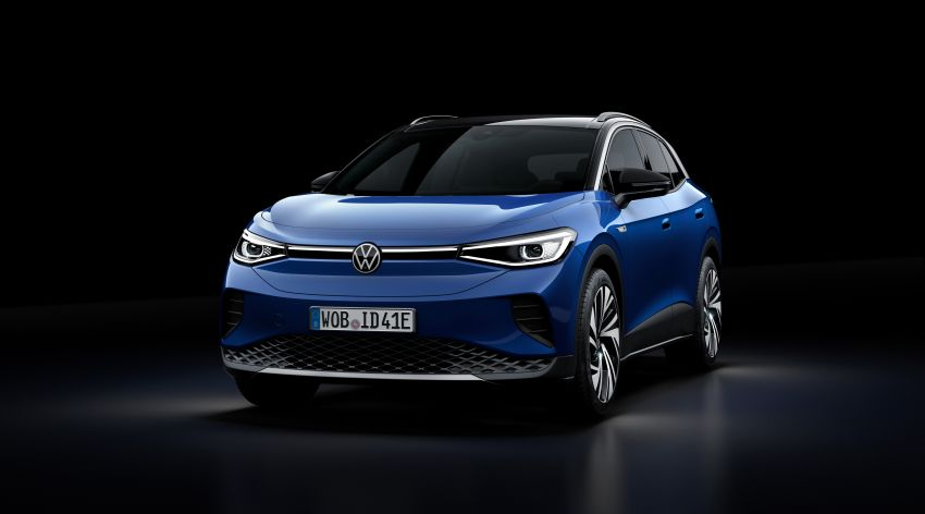 Volkswagen ID.4 electric SUV debuts – 77 kWh battery, 520 km range; from RM135,412 in US after tax credit Image #1182034