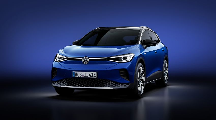 Volkswagen ID.4 electric SUV debuts – 77 kWh battery, 520 km range; from RM135,412 in US after tax credit Image #1182042