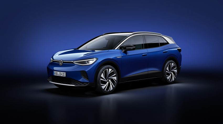 Volkswagen ID.4 electric SUV debuts – 77 kWh battery, 520 km range; from RM135,412 in US after tax credit Image #1182096