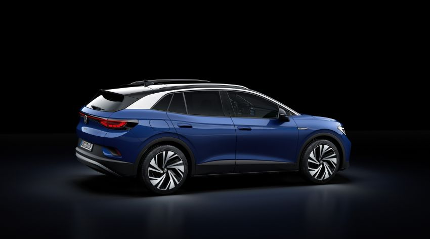 Volkswagen ID.4 electric SUV debuts – 77 kWh battery, 520 km range; from RM135,412 in US after tax credit Image #1182019