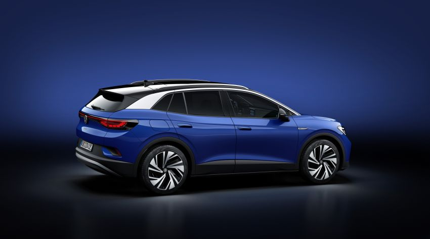 Volkswagen ID.4 electric SUV debuts – 77 kWh battery, 520 km range; from RM135,412 in US after tax credit Image #1182013