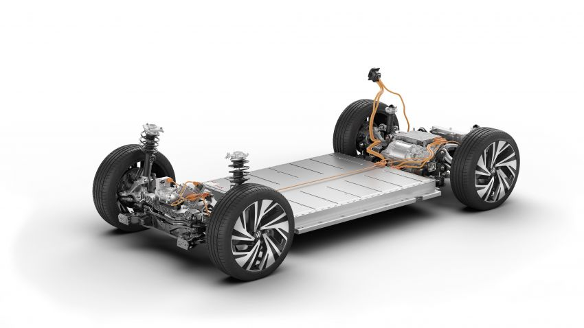 Volkswagen ID.4 electric SUV debuts – 77 kWh battery, 520 km range; from RM135,412 in US after tax credit Image #1182024